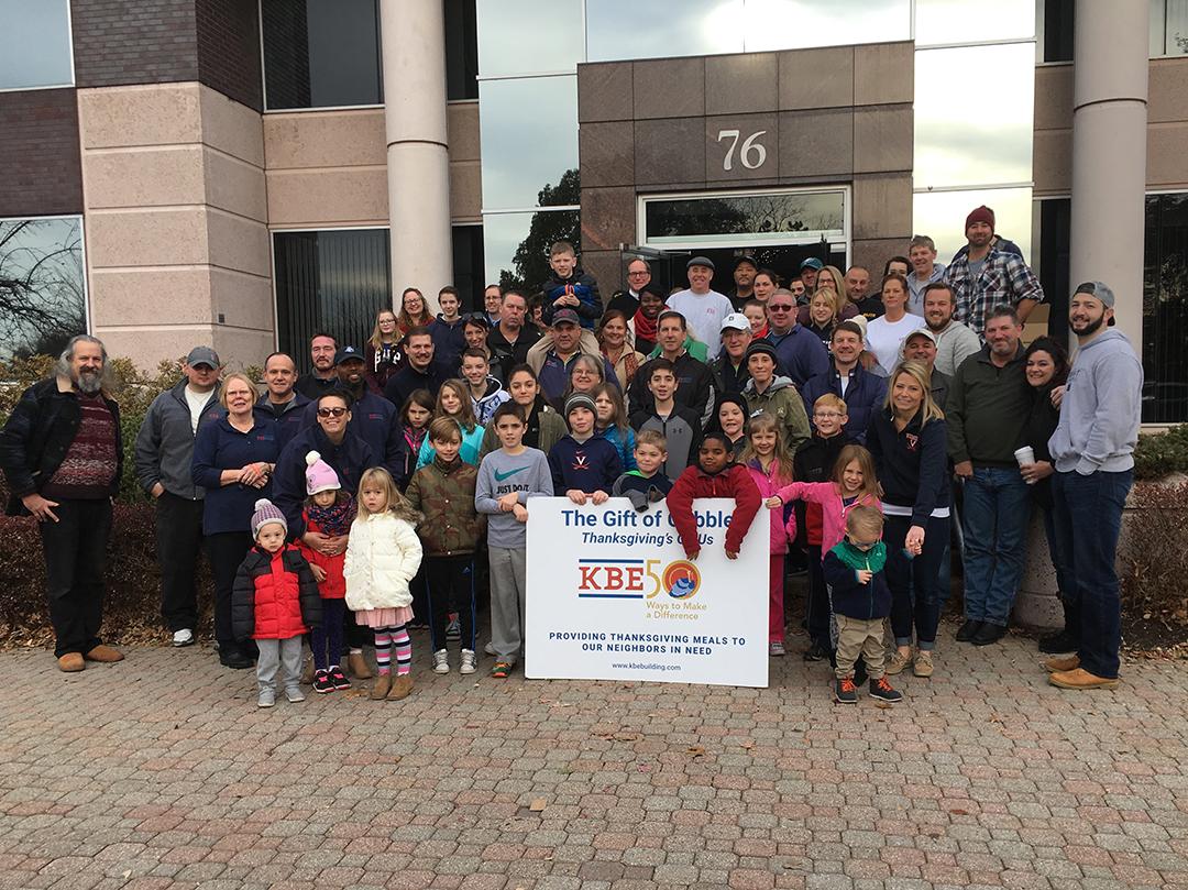 302 Families Enjoy Thanksgiving Dinner Courtesy of KBE