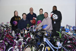 KBE donates 40+ bikes to Handlebars for the Holidays