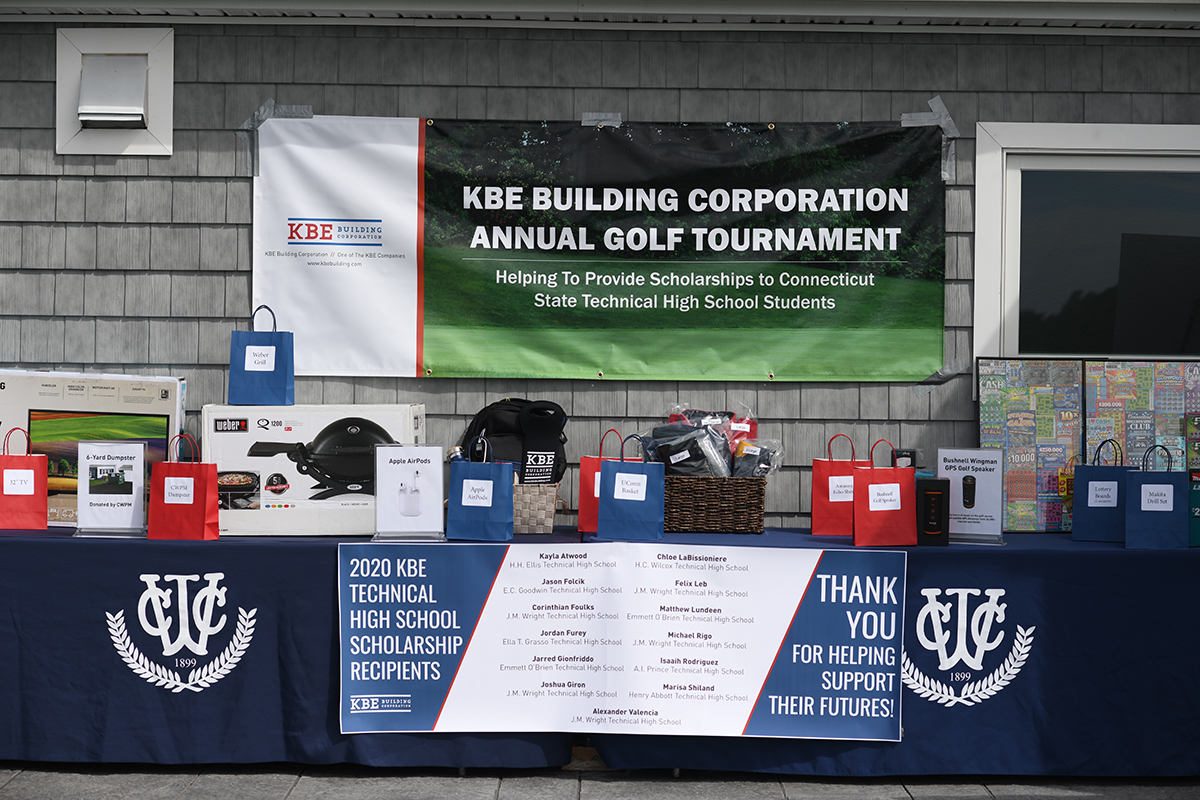 KBE Building Corp. Hosts 4th Annual Golf Tournament in Support of Connecticut Technical High School Seniors